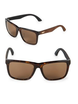 56MM Square Sunglasses