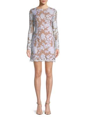 Grace Lace Long-Sleeve Dress