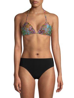 Multicolored Bikini Top