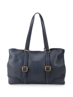 Lily Leather Tote