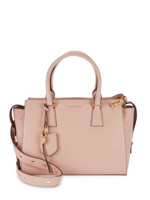 Square Leather Satchel