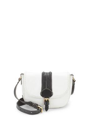 Loralie Whipstitch Satchel Bag
