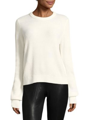 ACE CASHMERE CROPPED SWEATER