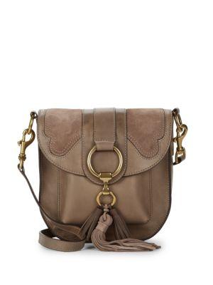 Ilana Leather Saddle Bag