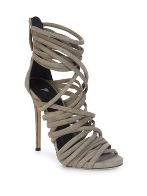 Alien Leather Strappy Sandals