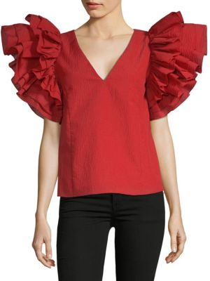 Dust Ruffle Top