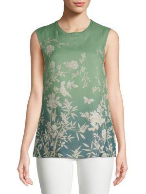 Ponera Floral Sleeveless Top