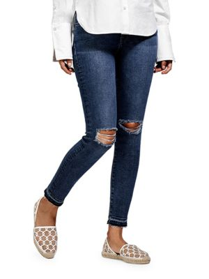Margaux Ankle-Length Distressed Jeans