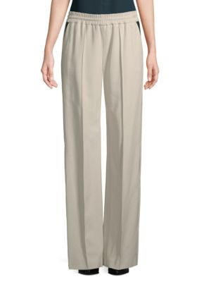 Loose-Fit Pleated Pants