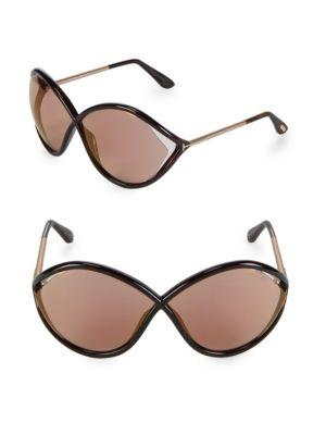 70MM Oversized Sunglasses