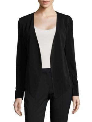 Lace-Up Tuxedo Jacket