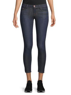 Stretch Cropped Skinny Jeans