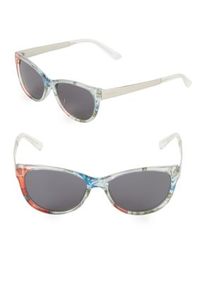 55MM Butterfly Sunglasses