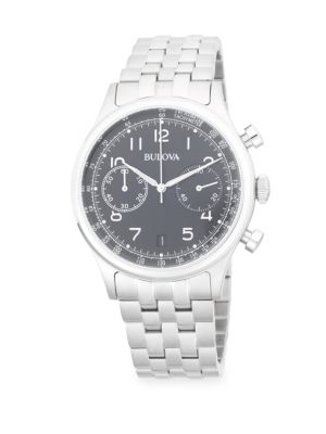 CLASSIC CHRONOGRAPH BRACELET WATCH