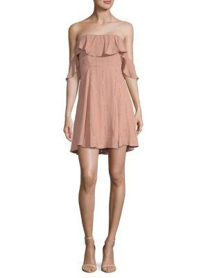 Sabina Off-The-Shoulder Dress
