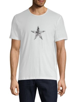 Faded Star Graphic Cotton Tee