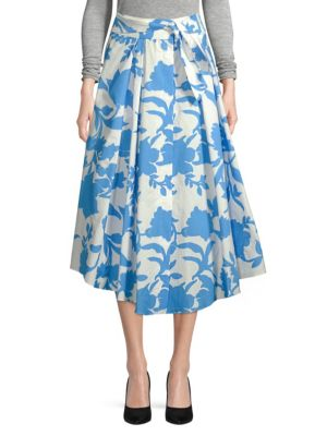 Jackie Floral Midi Skirt