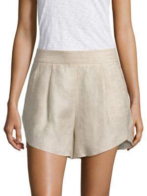 Linen Petal Shorts