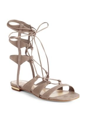 Erlina Leather Gladiator Sandals