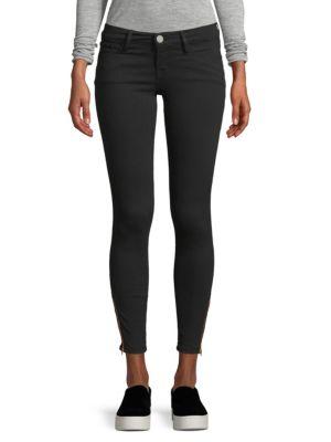 Signature Zip Skinny Jeans