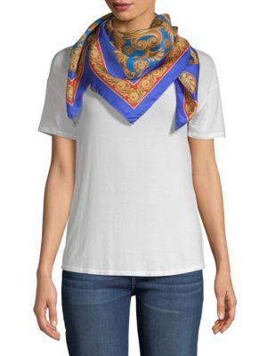 Carre Intricate Foulard Silk Scarf