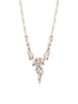 POSY CRYSTAL STATEMENT NECKLACE