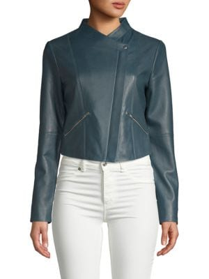 Leather Jam Jacket