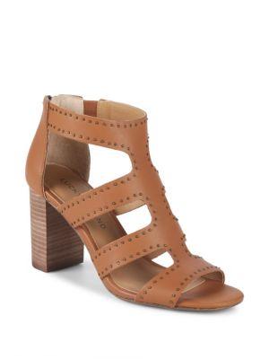 Tahira Studded Leather Sandals