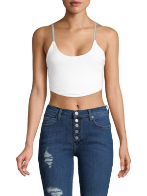 SUNSET CROPPED TOP