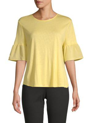 Bell-Sleeve Blouse