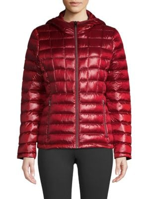PACKABLE DOWN PUFFER COAT
