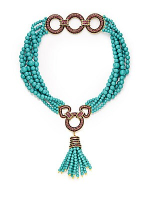 Dazzling Versatility Beaded Convertible Necklace