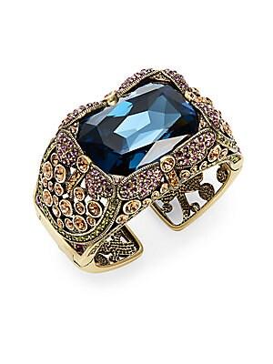 Damoiselle Jewel-Tone Cuff Bracelet