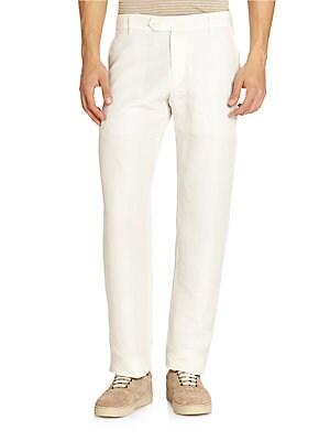 Linen & Silk Pants