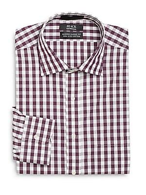 Modern Classic-Fit Gingham Dress Shirt