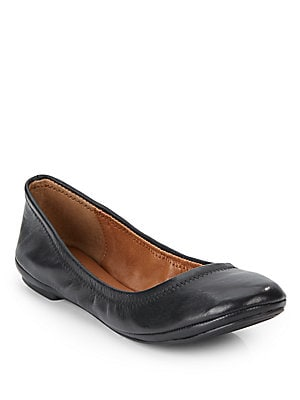 Elysia Leather Ballet Flats