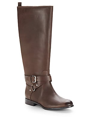 Daniana Leather Riding Boots