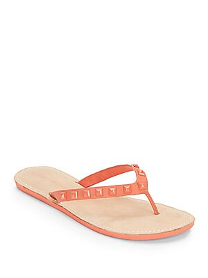 Studded Slip-On Sandals