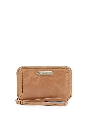 Leather Smartphone Wristlet Wallet