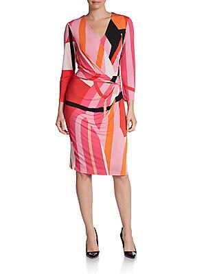 Side Draped Knit Dress