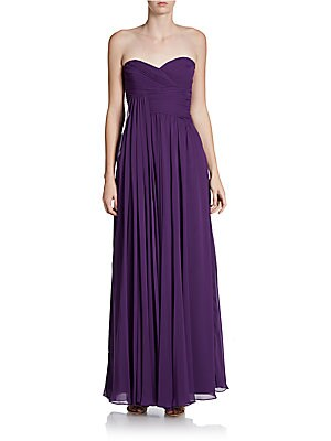 Strapless Grecian Gown