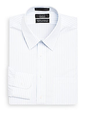 Classic-Fit Stripe Dress Shirt