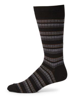 Multi Fancy Stripe Socks Marcoliani