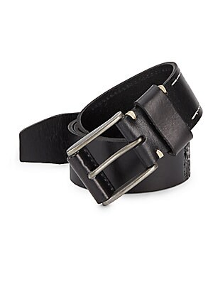 Pendleton Embossed-Leather Belt