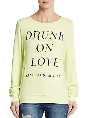 Drunk On Love Graphic Sweater