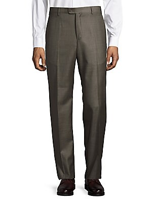 Four-Pocket Wool Pants