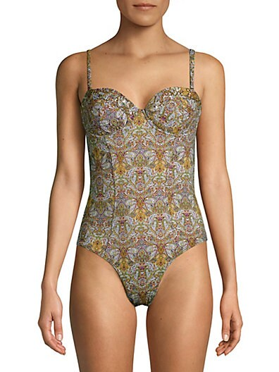 850021ebec3 OndadeMar Ambi One-Piece Paisley Swimsuit on sale at Saks Off 5th ...