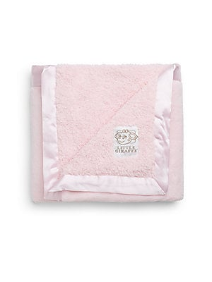 Chenille Fleece Baby Blanket