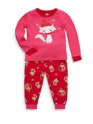 Infant's Snowflake & Fox Pajama Set