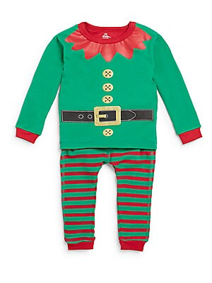 Infant's Holiday Elf Pajama Set